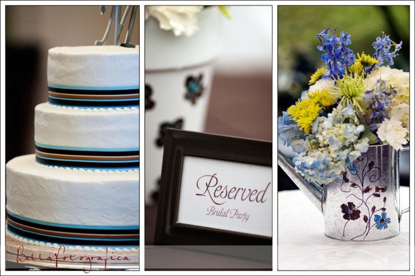 details in orange texas wedding
