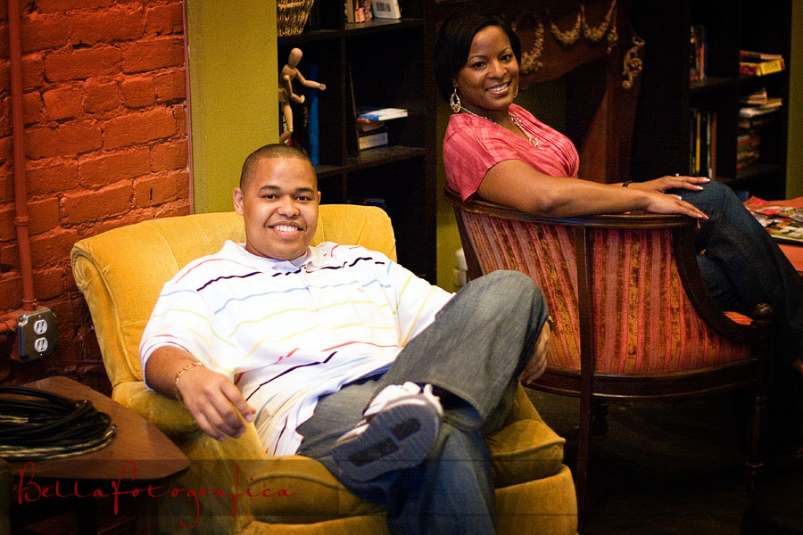 coffee lounge engagement