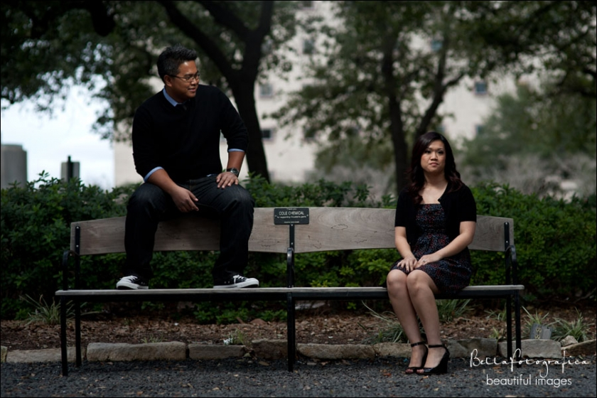 Houston Engagement Larizza and Chahn