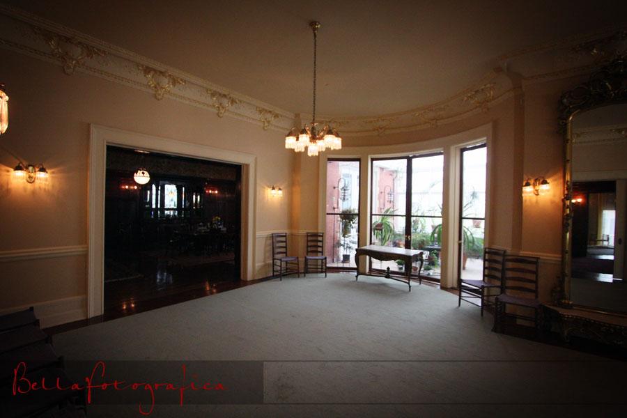 Moody Mansion Ballroom