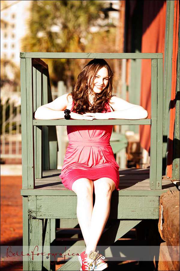outdoor senior photos