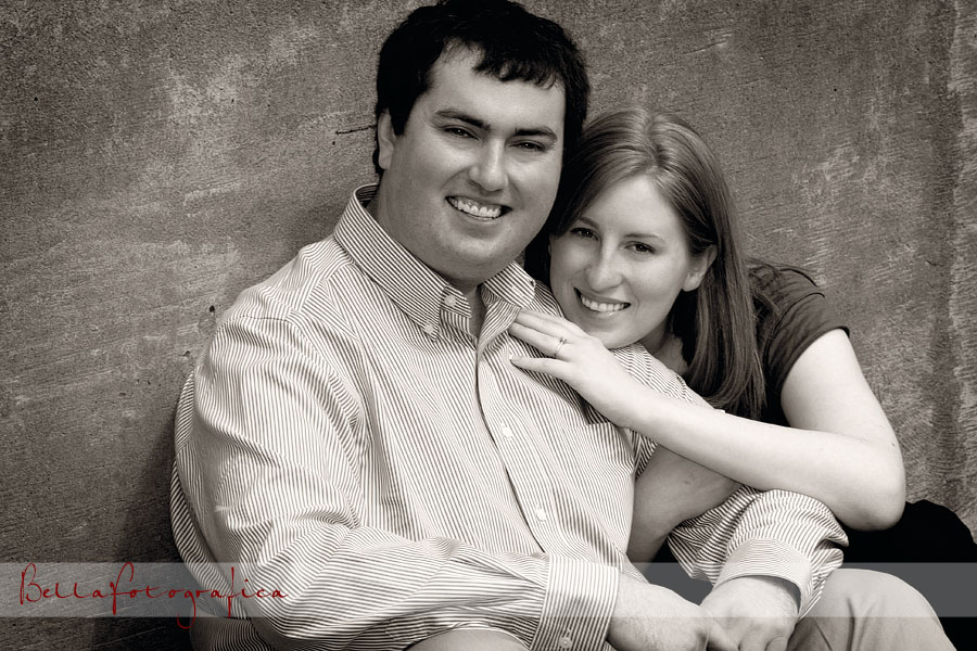 engagement session at the john gray center