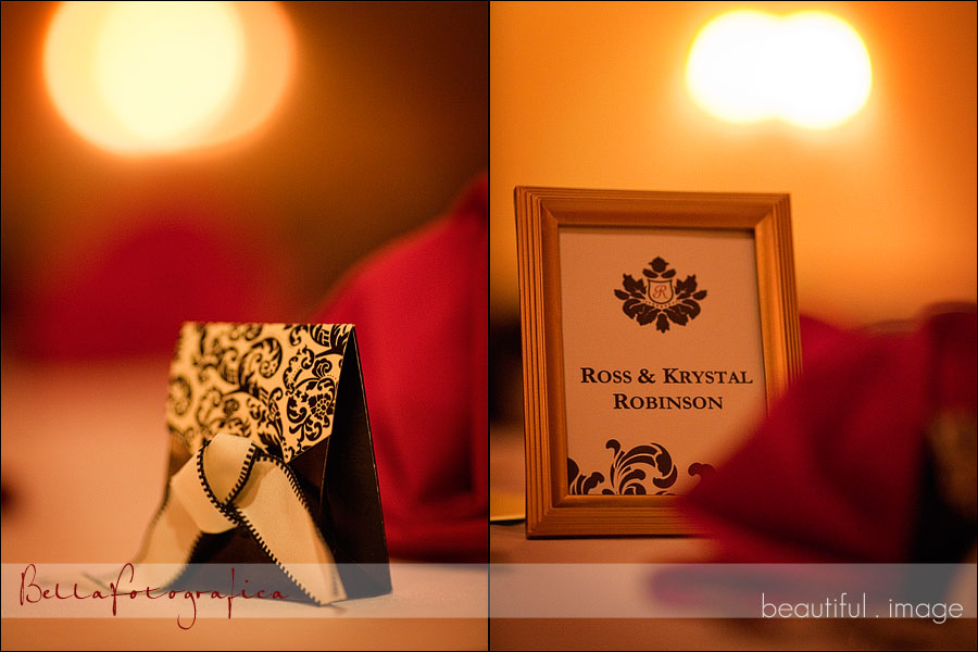 beaumont wedding reception details