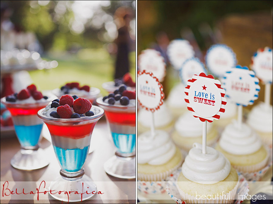 fresh berry parfaits and other red white and blue desserts