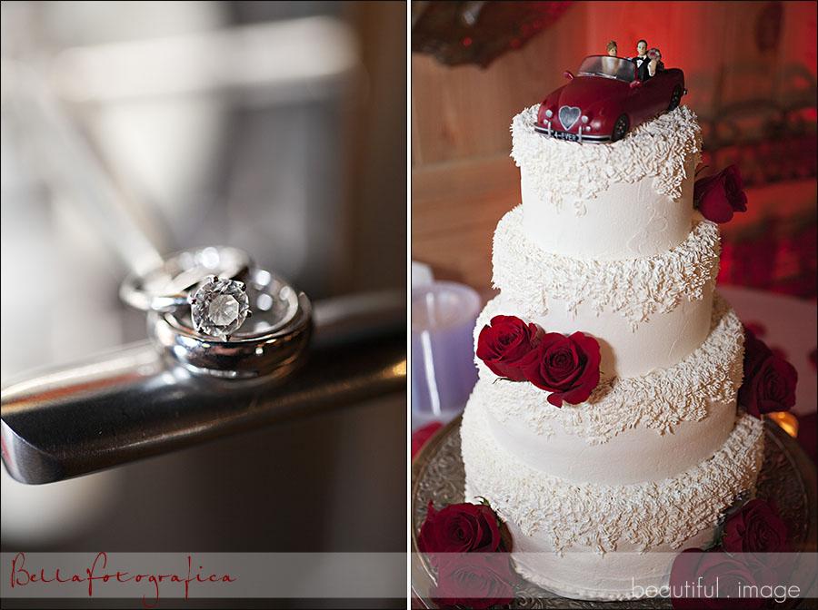 margarita machine wedding rings