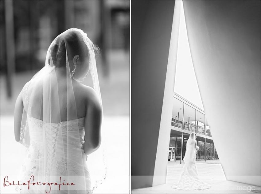 bridal photos at st thomas university