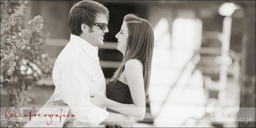 engagement photos in lumberton