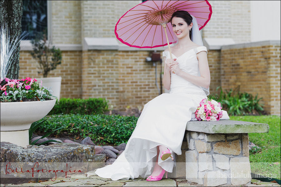 bridal photos at st michaels orthodox church