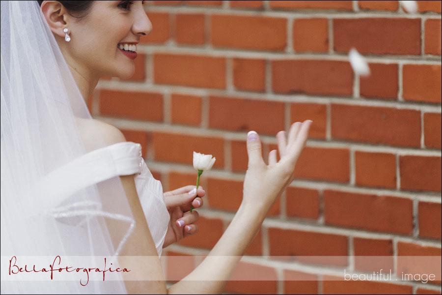 beaumont outdoor bridal photos