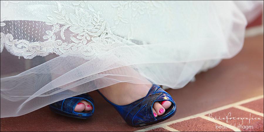 cobalt blue wedding shoes
