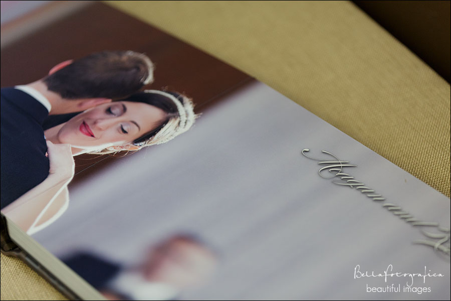 beautiful wedding album