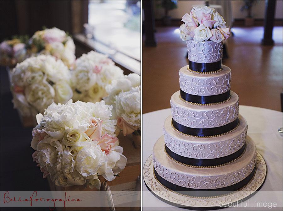 wedding cake - edible designs by jessie
