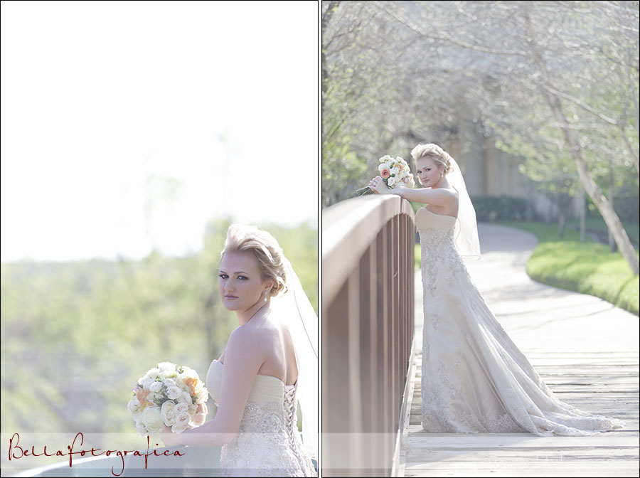 bridal photos in houston