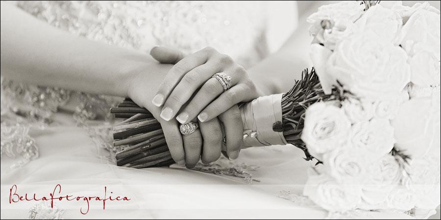 bridal photos in the magnolia ballroom