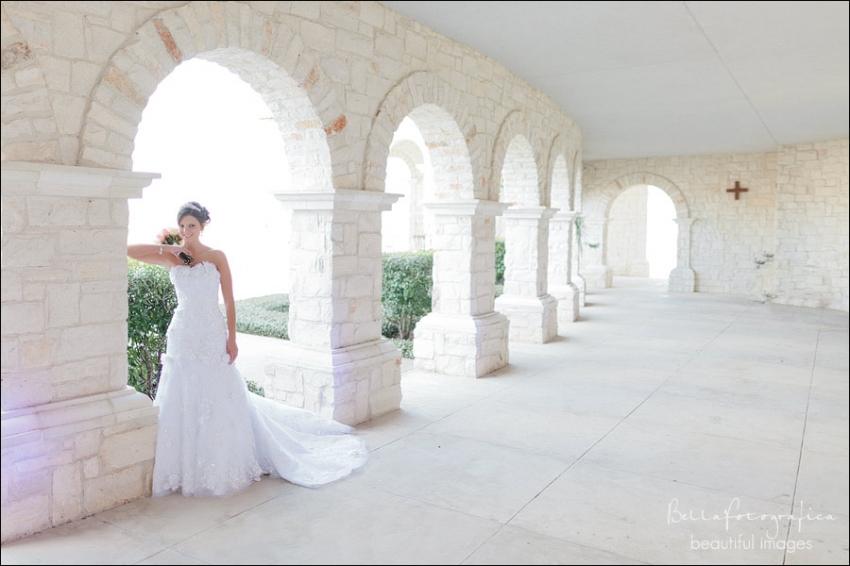 beaumont bridal portraits