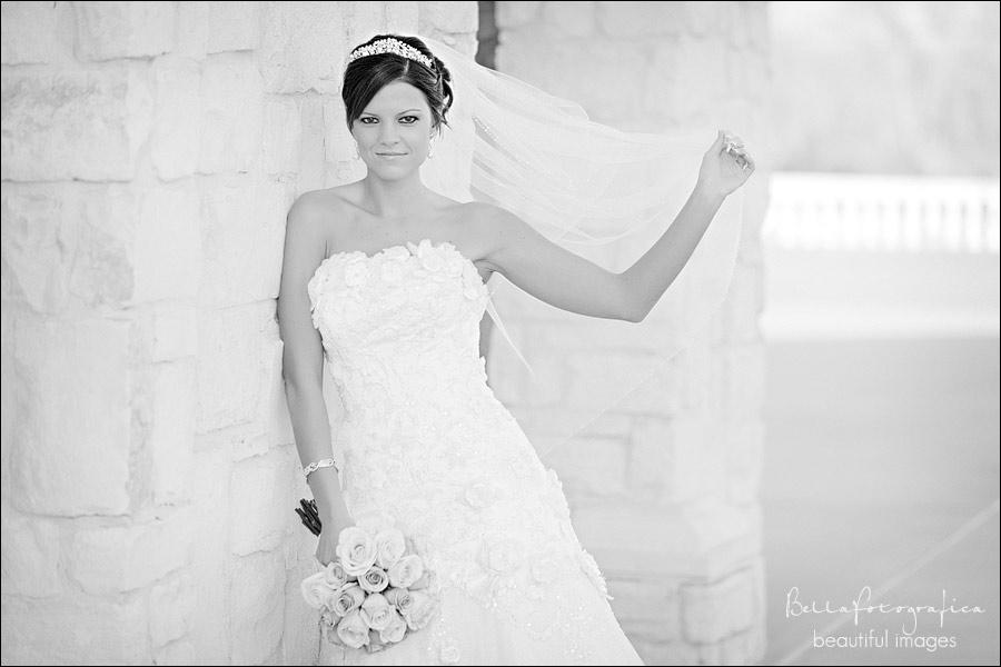 beaumont bridal portraits