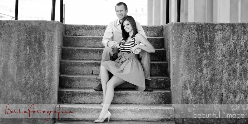 galveston engagement photos on the strand
