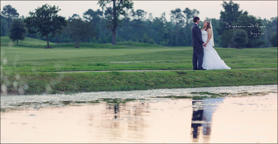 outdoor wedding portraits