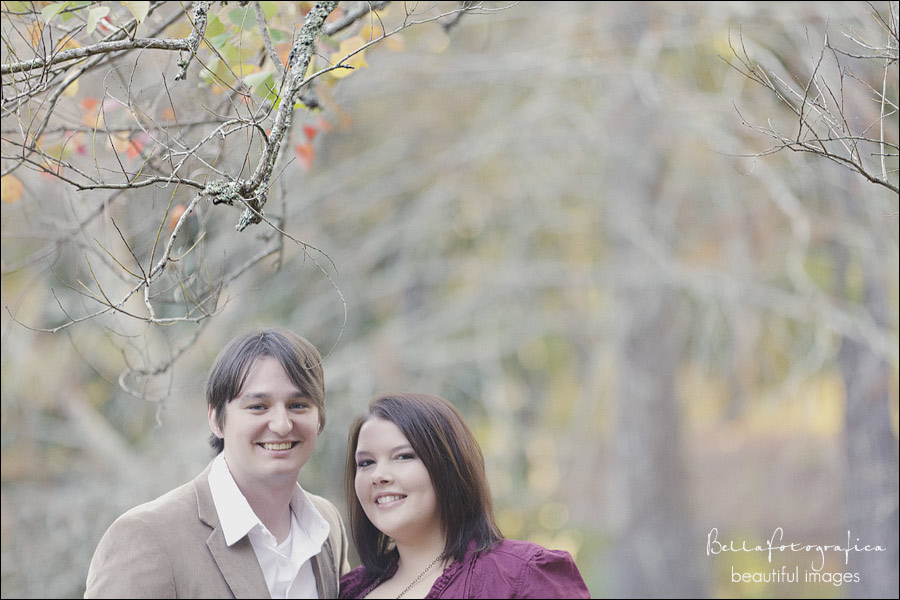lumberton outdoor engagement photos