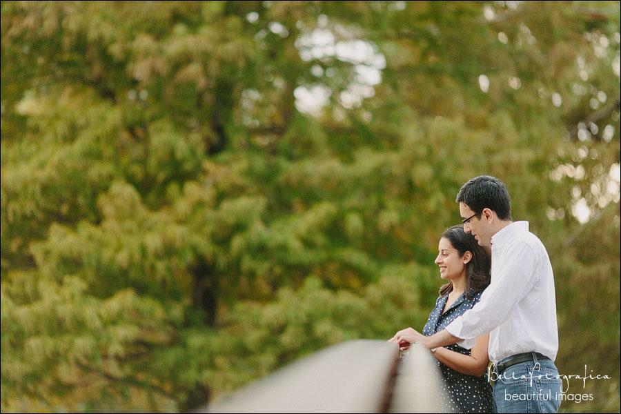 Hermann park engagement photos  Houston Texas