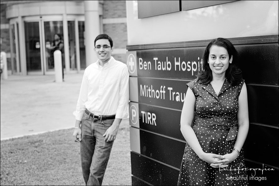 texas medical center engagement photos Houston Texas