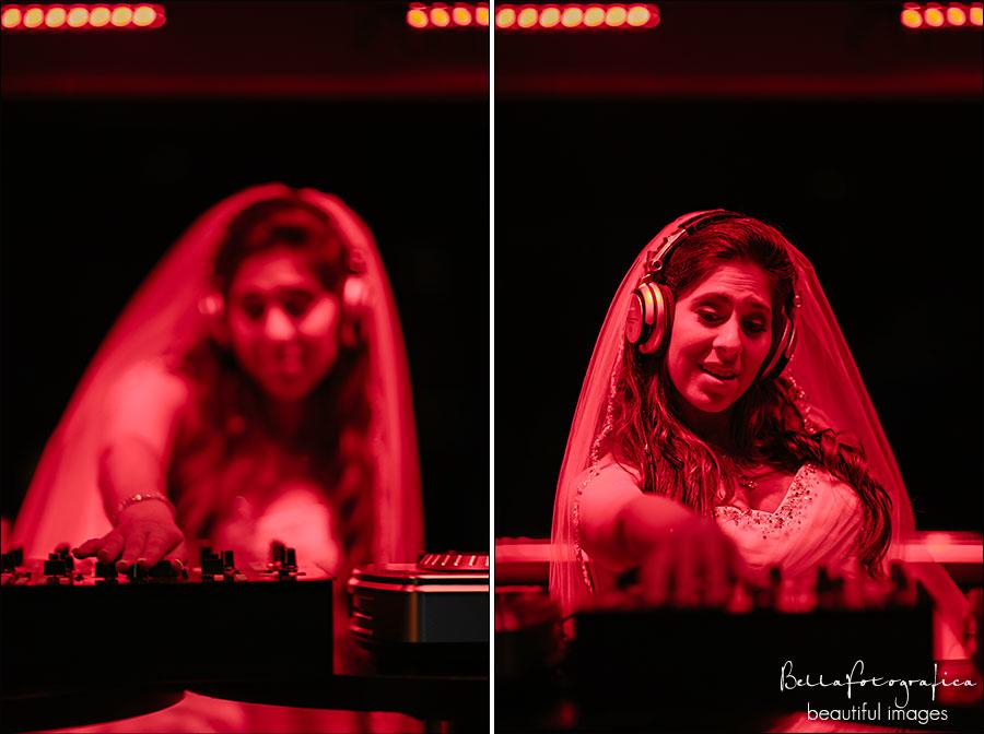 DJ bridal portraits in Vain nightclub Beaumont Texas