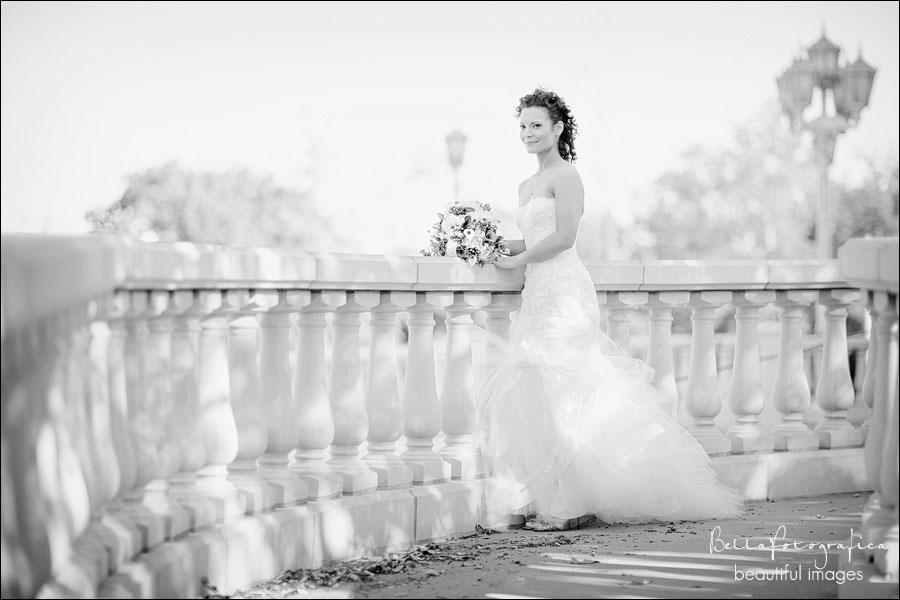outdoor bridal portraits Beaumont Texas