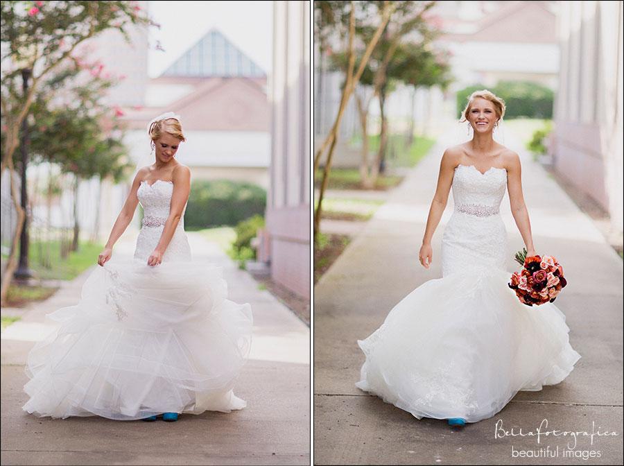beaumont bridal photos