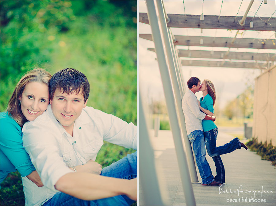 outdoor engagement photos beaumont Texas