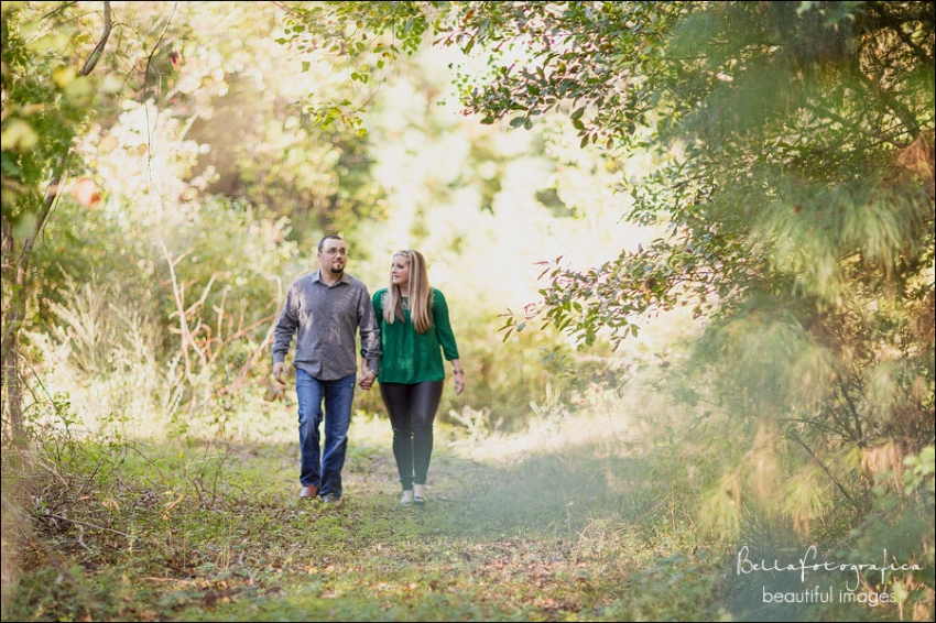 engagement portraits at the book nook inn