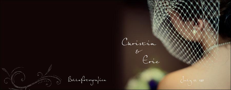 christin and erics wedding album beaumont texas wedding photographer bellafotografica - Photography Cover Page