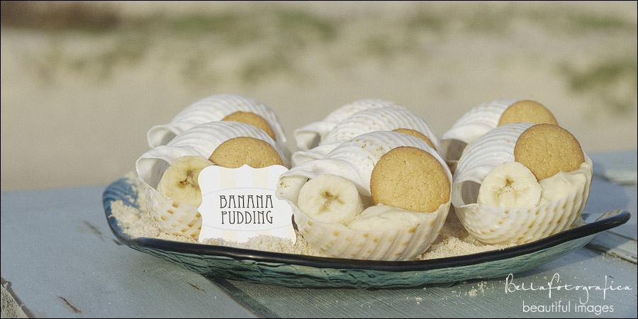 Banana Pudding Sea Shells